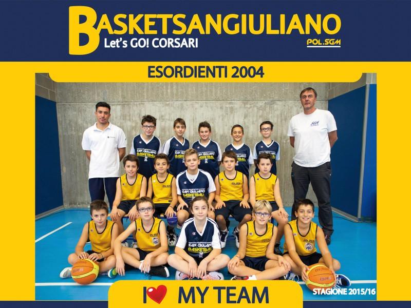 Esordienti 2004