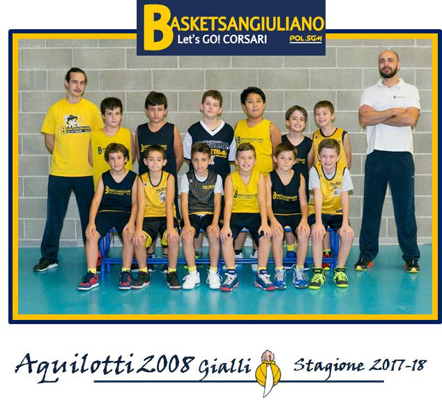 Aquilotti 2008 Gialli